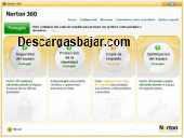 Norton 360 antivirus 2012 captura de pantalla