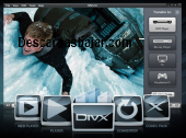 DivX Player 10.0.1 captura de pantalla