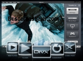 Divx reproductor player 12 captura de pantalla