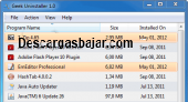 Geek Uninstaller 1.4.3.105 captura de pantalla