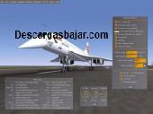 FlightGear simulador de vuelo v2.10 captura de pantalla