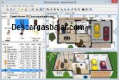 Sweet Home 3D 5.6 captura de pantalla