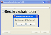Fake Antivirus Remover 2020 captura de pantalla