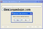 Fake Antivirus Remover 2017 captura de pantalla