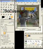 Gimp 2.8.20 captura de pantalla