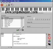 Simulador de piano 2018 captura de pantalla