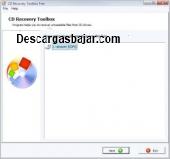 Cd recovery toolbox gratis 2.07 captura de pantalla