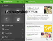 Evernote Android 5.0.7 captura de pantalla