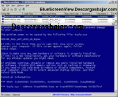 BlueScreenView 1.50 captura de pantalla