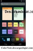 ColorNote 1.2 captura de pantalla