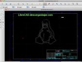 LibreCAD 2.0.6 captura de pantalla