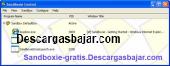Sandboxie gratis 5.10 captura de pantalla