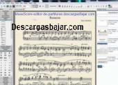 MuseScore editor de partituras 2.1 captura de pantalla