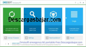 Emsisoft emergency kit portable free 9.0.0.4523 captura de pantalla