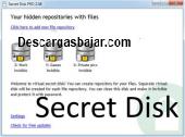 Secret Disk 2.15 captura de pantalla
