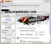 Shareaza 2.7.9.0 captura de pantalla