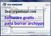 File Shredder 2.5 captura de pantalla