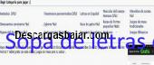 Sopas de Letras 2.0 captura de pantalla