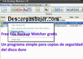 Free File Backup Watcher gratis 08.10.19 captura de pantalla