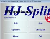 HJSplit portable 2016 captura de pantalla