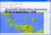 Greenfish Relief Map Generator 1.4 captura de pantalla