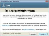 Java Virtual Machine 8 Update 73 captura de pantalla