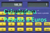 Calculadora Pesetas a Euros gratis 2.9 captura de pantalla