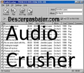 AudioCrusher 1.7 captura de pantalla