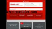 Banco Santander Windows 2.7 captura de pantalla