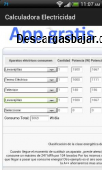 Cuanto consume cada electrodomestico 3.0.5 captura de pantalla