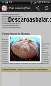 Recetas Android gratis 3.9 captura de pantalla