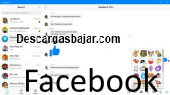 Facebook messenger pc Windows 10.7 captura de pantalla