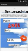 Medidor de amor Android gratis 3.5 captura de pantalla