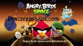Angry Birds Space para Windows 10 17 captura de pantalla