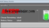 Battery monitor 7.5 captura de pantalla
