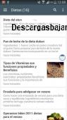 Recetas de cocina faciles 3.0 captura de pantalla