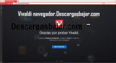 Vivaldi web browser 1.9 captura de pantalla