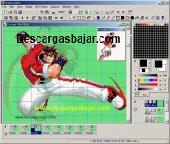 GraphicsGale portable 1.93.26 captura de pantalla