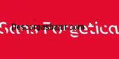 Sans Forgetica Font 2018 Español captura de pantalla