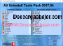 AV Uninstall Tools Pack 2018.09 captura de pantalla