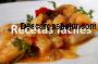 Recetario de Cocina Español captura de pantalla